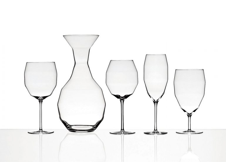Product photography for Design Studio Llev by Roman Mlejnek, glass set Decci.