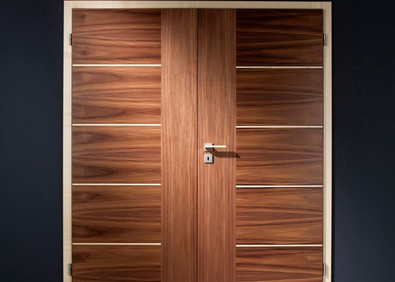 Product photography for Sapeli catalog by Roman Mlejnek, wood doors.